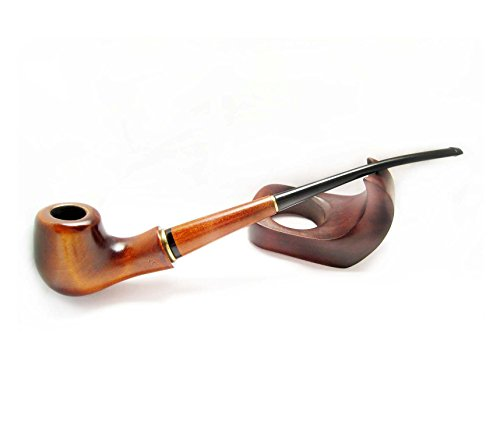 SALE, Long Tobacco Pipes of Pear Root Lady – Blues Carving Handmade, Lady Pipe