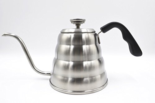 Grind House Pour Over Coffee and Tea Kettle With Built In Thermometer 1.2L ()