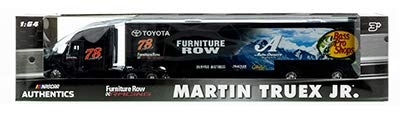 Martin Truex #78 Auto Bass Pro Shop Furniture Row Auto- Owners Tracker Boats Hauler Transporter Trailer Rig Semi Tractor Truck Lionel Action Racing Diecast Cab Tractor Plastic Trailer -  MT78Haul