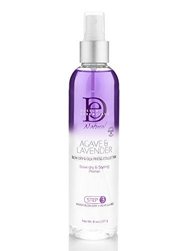 Design Essentials Agave & Lavender Moisturizing, BlowDry and Style Primer, 8 Ounce