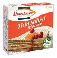 Manischewitz Matzos Thin Salted, 10 Oz (Pack of 4) by Manischewitz