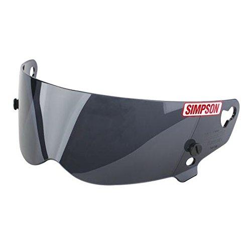 Simpson Racing 89401A Shield-Smoke Bandits/ Diamond Back Helmet ()