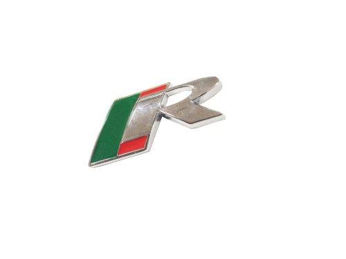 Dian Bin- R Metal Plating Sticker Vehicle-logo Badge Emblem By Jaguar Available by Dian Bin