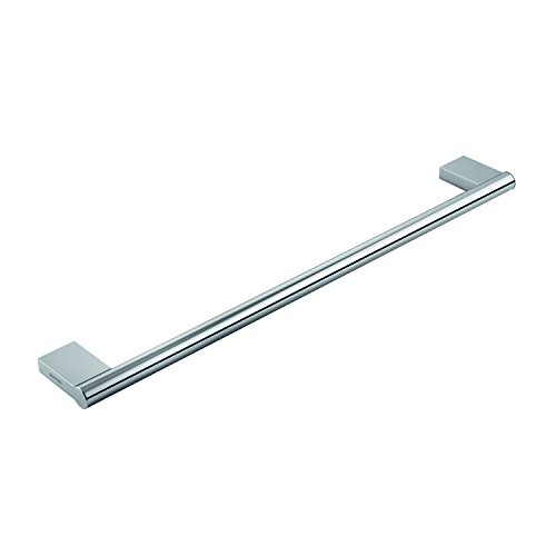 COSMIC Project Single Towel Bar, Wall Mount, Brass Body, Chrome Finish, 23-5/8 x 1 x 3-1/8 Inches (2510165) by DAX