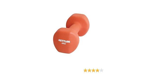 Kettler - Juego de mancuernas sw neopreno rojo rojo Talla:4 kg: Amazon.es: Deportes y aire libre