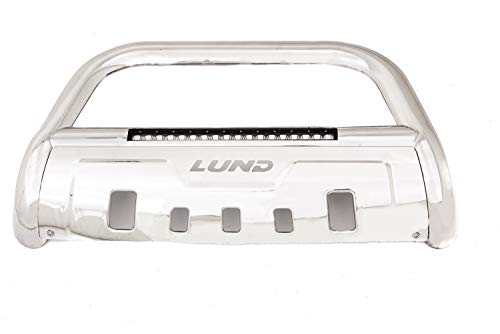 Lund 47021209 Polished Stainless Steel Bull Bar with Integrated 20