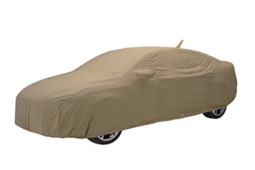 Covercraft Custom Fit Car Cover for MG and Triumph (Tan Flannel Fabric, Tan)