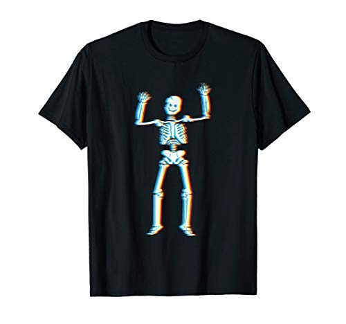 Psychedelic Skeleton T-Shirt | Trippy Halloween Costume