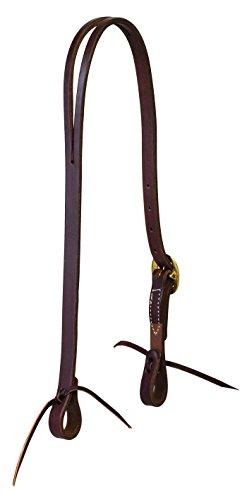 Weaver Leather Working Tack Solid Brass Split Ear Headstall