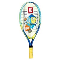 Wilson Sporting Goods Junior Tennis Racket (Blue/Yellow, 19-Inch)