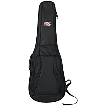 a45ba1a12f7 Gator Cases 4G Series Gig Bag For Electric Guitars With Adjustable Backpack  Straps; Fits Most Stratocaster and Telecaster Style Guitars (GB-4G-ELECTRIC)