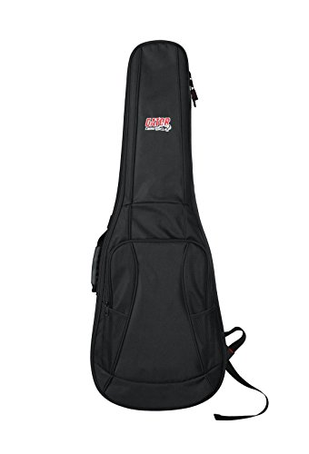 Gator Cases 4G Series Gig Bag For Electric Guitars With Adjustable Backpack Straps; Fits Most Stratocaster and Telecaster Style Guitars (GB-4G-ELECTRIC) (Gator Gig Bag)