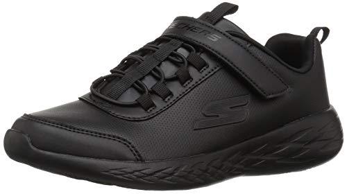 - Skechers Kids Girls' GO Run 600 Sneaker, BBK 007, 2 Medium US Little Kid
