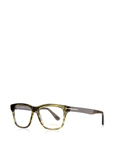 Tom Ford Eyeglasses TF 5372 Eyeglasses 098 Striped Green 54mm by Tom