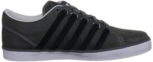 K-Swiss GOWMET II P VNZ - Zapatillas de cuero hombre gris - Grau (Charcoal/Black/White)