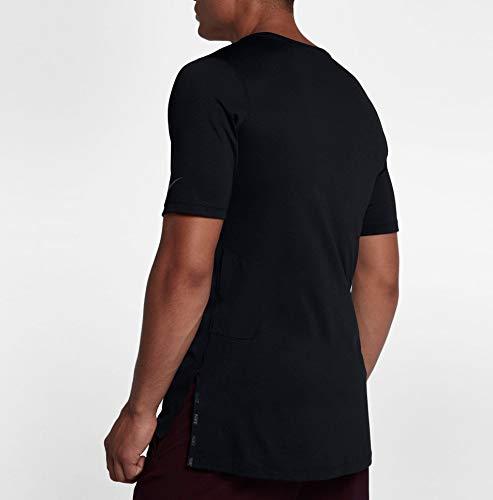 Top da Utility uomo nera M nera Maglietta Fttd Nike Ss Nk 0EpR8q