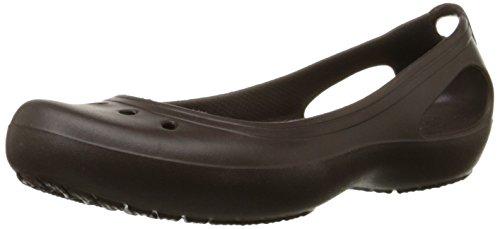 Crocs Kadee - Zapatos de punta redonda para mujer Marrone (Espresso/Espresso)