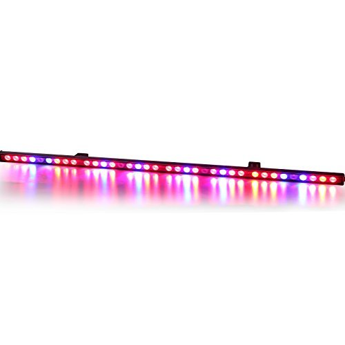 Lightimetunnel Waterproof 108w LED Grow Light Bar for Indoor Plants Growing with Red Blue IR Spectrum by Lightimetunnel