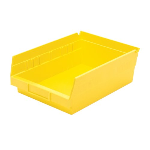 Akro Mils 30150YELLO Plastic Nesting 4 Inch