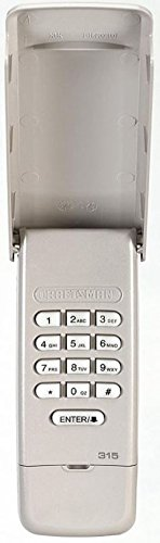 Craftsman 139.3050 Garage Door Opener Remote Keyless Entry Keypad
