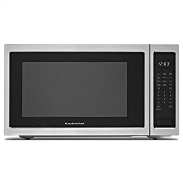 KitchenAid Stainless Steel 2.2 Cubic Feet Countertop Microwave (KCMS2255BSS)