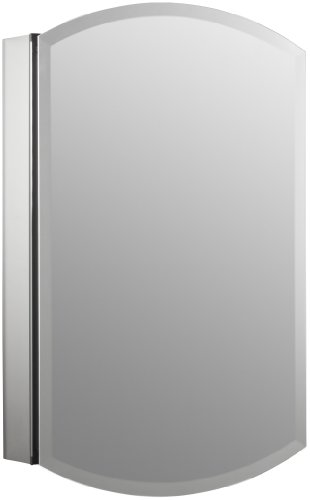 KOHLER K-3073-NA Archer Frameless 20 inch x 31 inch Aluminum Bathroom Medicine Cabinet; ; Recess or Surface Mount
