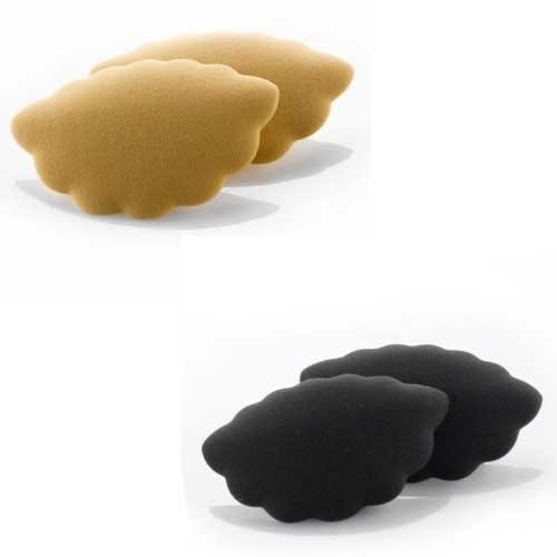 Foot Petals Amazing Arches - Foot Petals Amazing Arches 2 Packs 1 Pair Black 1pair Buttercup