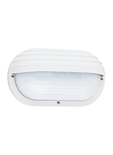 Sea Gull Lighting 89805-15 Bayside Outdoor Fixture, One, White Finish For Sale