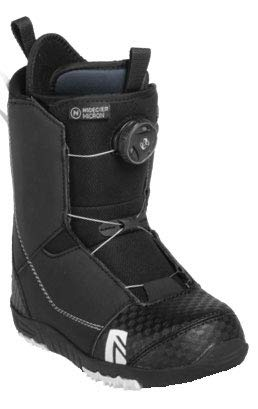 Flow Micron Boa Snowboarding Boots 2019 - Youth Black 6 (Best Womens Snowboard Boots 2019)