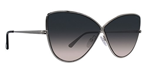 Silver Tom Sunglasses Ford - Tom Ford ELISE-02 FT0569 16B Women Silver Metal Infinity Butterfly Sunglasses