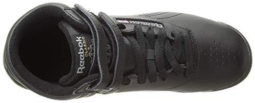 Reebok Women's Freestyle Hi Walking Shoe, Black, 5 M US by Reebok (Image #7)