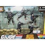 Gi Joe Bazooka (G.I. Joe Exclusive Action Figure Troop Builders Set Cobra Special Operations Night Watch)