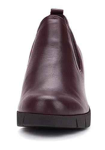 À Compensées Bordeaux Flexx D4507 Semelle 10 The Bottines Femme qxaTCgqwI
