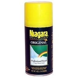 Niagara Professional Finish Original Spray Starch 4 Ounces (Pack of 12)