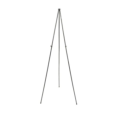 "Quartet Easel, Portable Tripod, 63"" Max. Height, Supports 5 lbs"