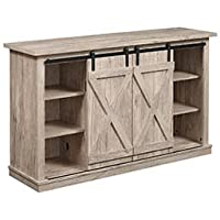 Wrangler Media Console in Ashland Pine Finish - TC54-6127-PD25