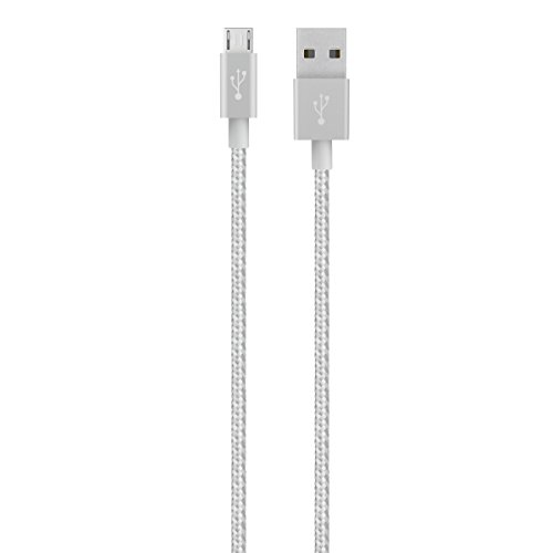 Belkin 4 Foot MIXIT Metallic Silver