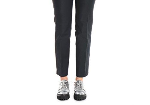 Pt01 Pantaloni Donna VSNYZP0AMFLD010360 Cotone Nero