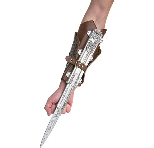 AFG MEDIA LTD Assassin's Creed Ezio Hidden Blade Halloween Costume Accessory for Adults, 5