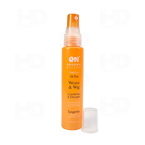 Organic Natural Conditioner Detangler Tangerine product image