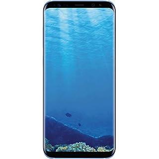 "Samsung Galaxy S8+ 64GB Unlocked Phone - 6.2"" Screen - International Version (Coral Blue) (Renewed)"