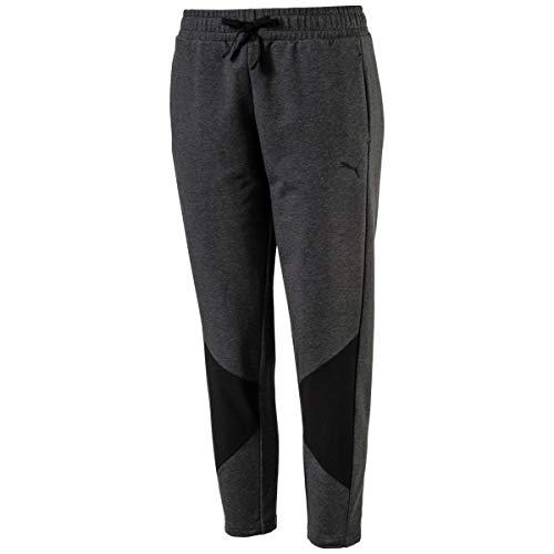 PUMA Womens Fitness Yoga Sweatpants Gray XS ()