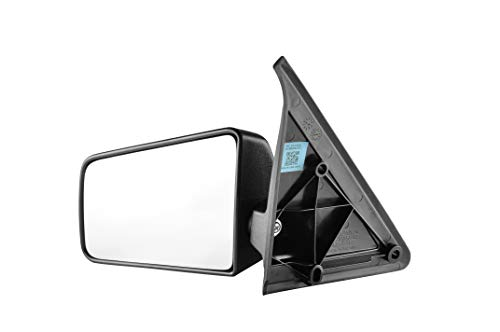 Driver Side Textured Side View Mirror for 1985-1994 Chevrolet S10 Blazer, 1992-1994 GMC Jimmy, 1985-1993 Chevrolet S10, 1985-1991 GMC S15 Jimmy, 1985-1990 GMC - Mirror Gmc S15 Jimmy
