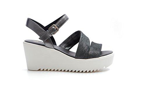 antracite Pretty Mujer Zapatos Con Nero Nana Correa xTYTaqPr