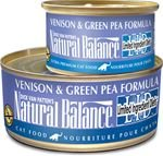 Natural Balance L.I.D. Duck & Green Pea Formula Canned Cat F