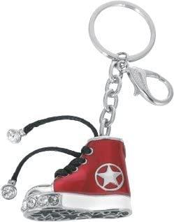 Dakota - Llavero Estilo Converse All Star, rojo - Metal ...