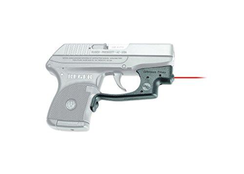 Crimson Trace LG-431 Laserguard Red Laser Sight for Ruger LCP Pistols, Black