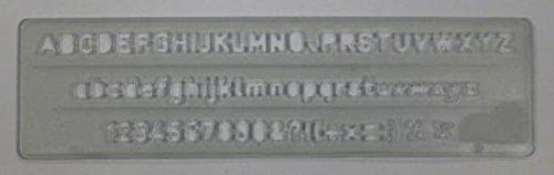 Normografo Wiler - N300/5 5 mm