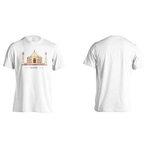 Neue Schöne Taj Mahal Kunst Herren T-Shirt m492m