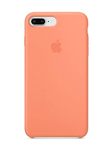 (Apple Cell Phone Case for iPhone 8 Plus - Peach)
